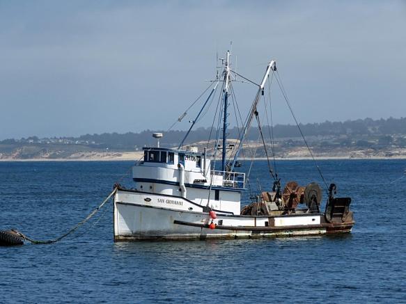 The San Geovanni in Monterey Harbor