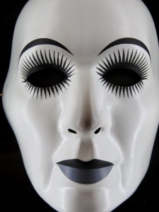 [White] Mask, David Moore, 1971