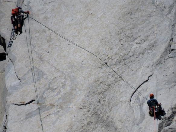 Climbers on El Capitan