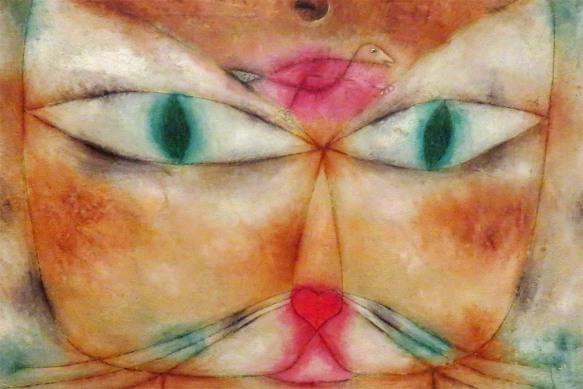 Cat and Bird, Paul Klee, 1928