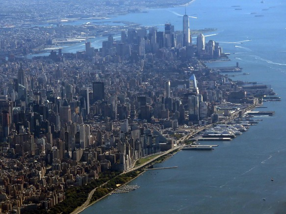 Lower Manhattan from the Air