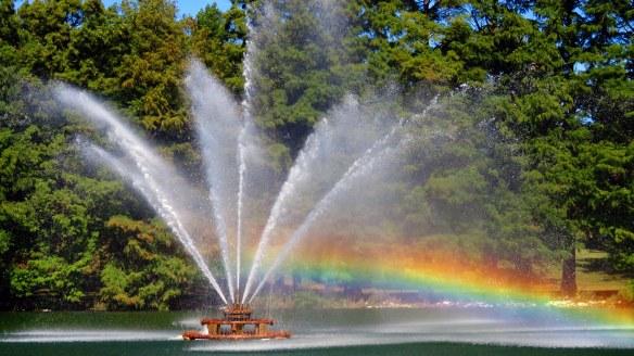 Round Lake Fountain