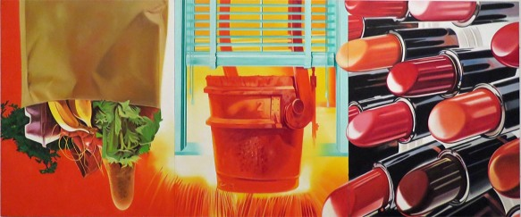 House of Fire, James Rosenquist, 1981