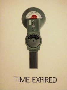 Time Expired, Vern Blosum, 1962