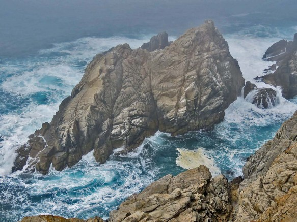 Point Lobos Rocks and Surf