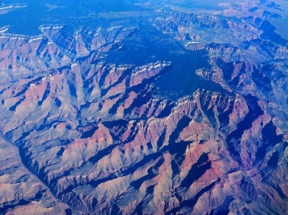 The Grand Canyon From 35,000'