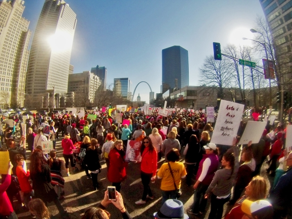 Women's March on Saint Louis