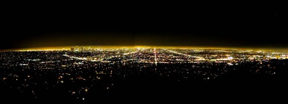 The City of Stars as Seen from the Griffith Observatory