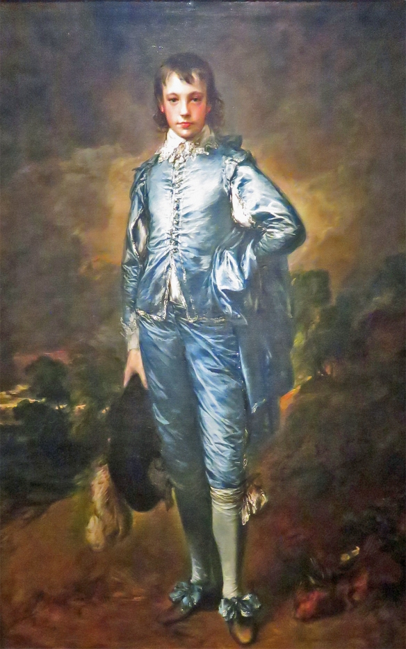 The Blue Boy, Thomas Gainsborough, 1770