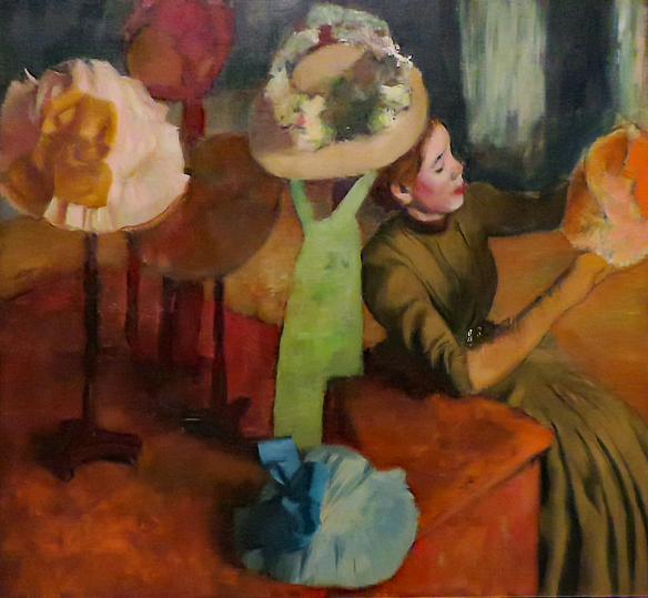 The Millinery Shop, Edgar Degas, 1879-1886