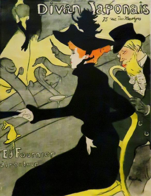 Divan Japonais, Henri Marie Raymond de Toulouse-Lautrec, 1892-1893
