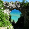 Arch Rock on Mackinac Island