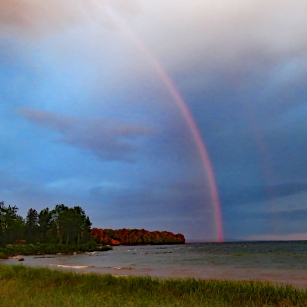 Birch Point Rainbow