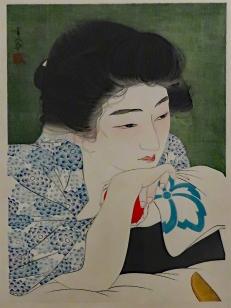 Morning Hair, Torii Kotondo, 1930