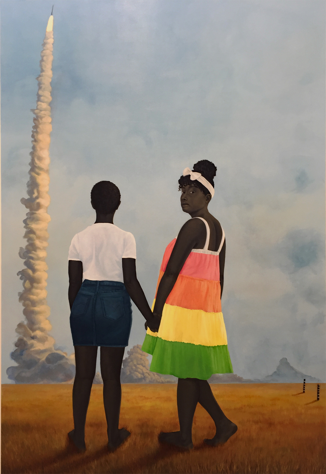 Image result for Amy Sherald. Planes, rockets, and the spaces in between