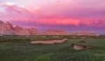 Storm Clouds Over the Badlands