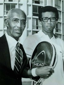 Richard A. Hudlin and Arthur R. Ashe Jr.