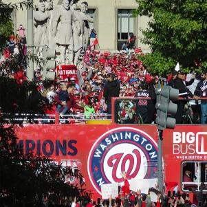 Nat's Victory Parade