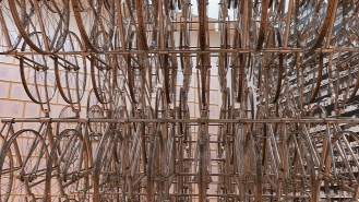 Forever Bicycles, Ai Weiwei, 2012 (Side View)