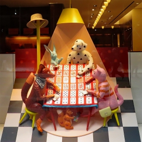 Hermès Card Game Window