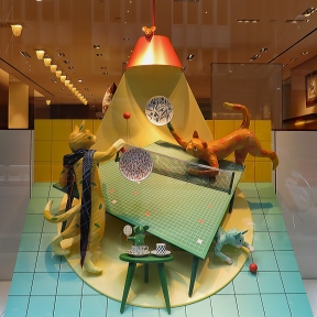 Hermès Ping-Pong Window